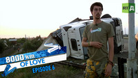 Narrow escapes und the power of Love 8,000km of Love Ep.6