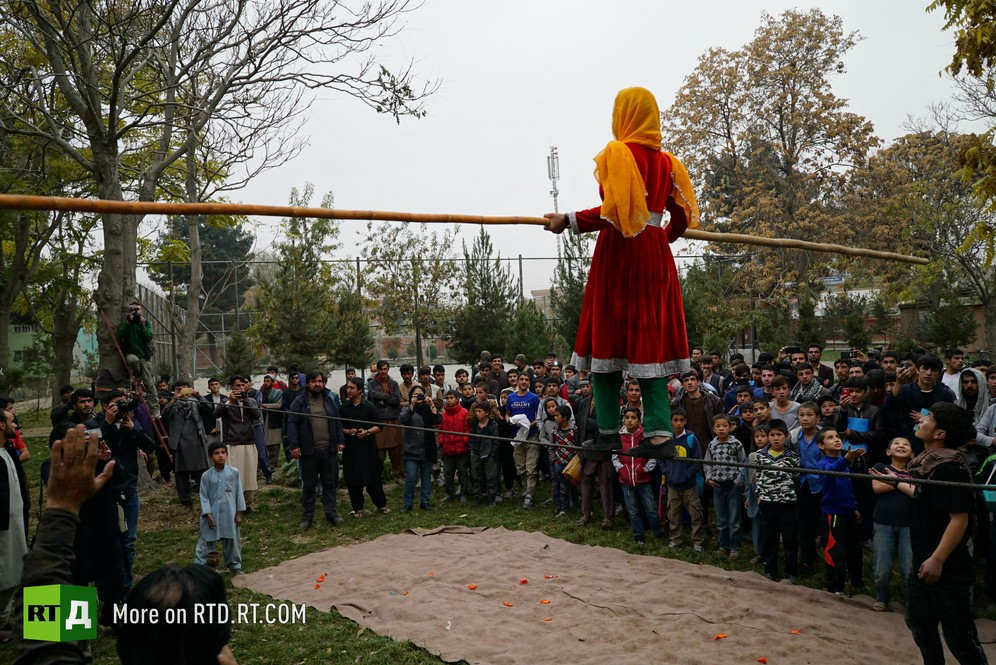 Kabul circus for children, Mobile Mini Circus for Children