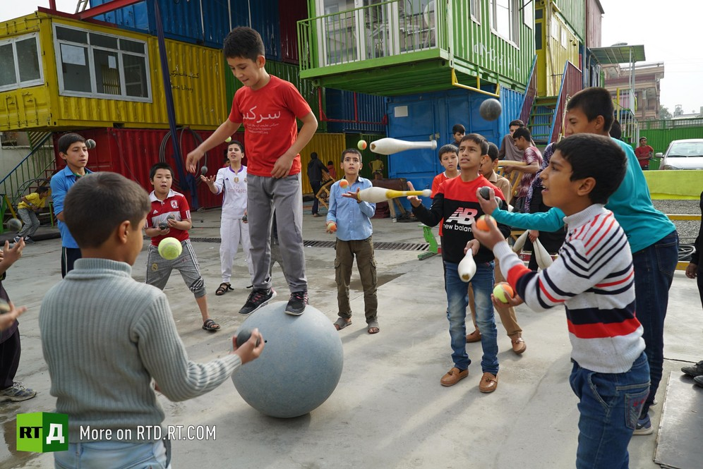 Mobile Mini Circus for Children in Afghanistan
