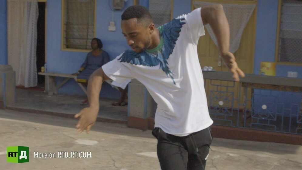 Ghana's dancing teacher Percy Jackson