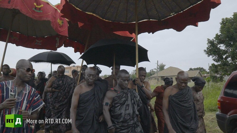 Royal funeral Ghana