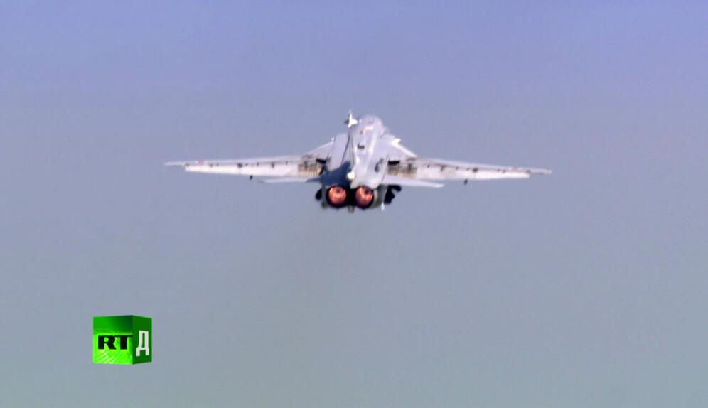 A SU-24 bomber