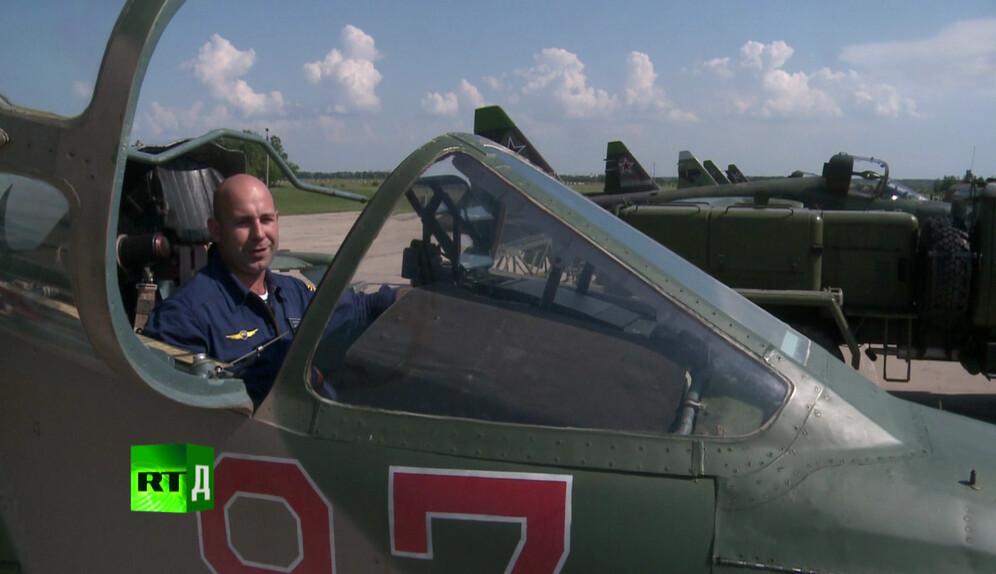 SU-25 ground attack aircraft