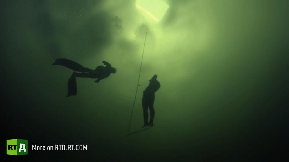 Freediving Under Ice, Russian Freediver's Daring World