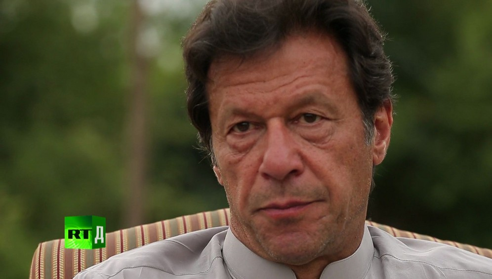 Face of Pakistani political leader Imran Khan. Taken while shooting RTD documentary on the impact of drones, Game of Drones.