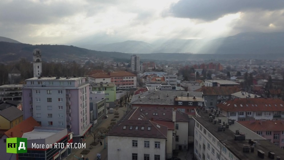The town of Bihac in Bosnia and Herzegovina became a new entry point for migrants sneaking into Europe