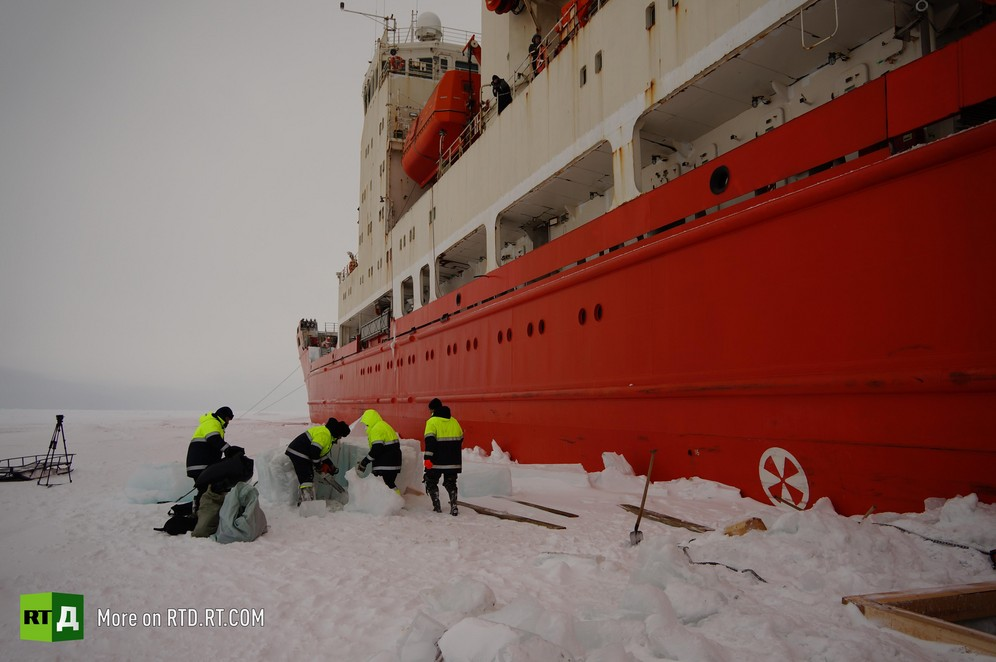 Researchers gather unique data in the Arctic region during polar expedition, Transarktika-2019
