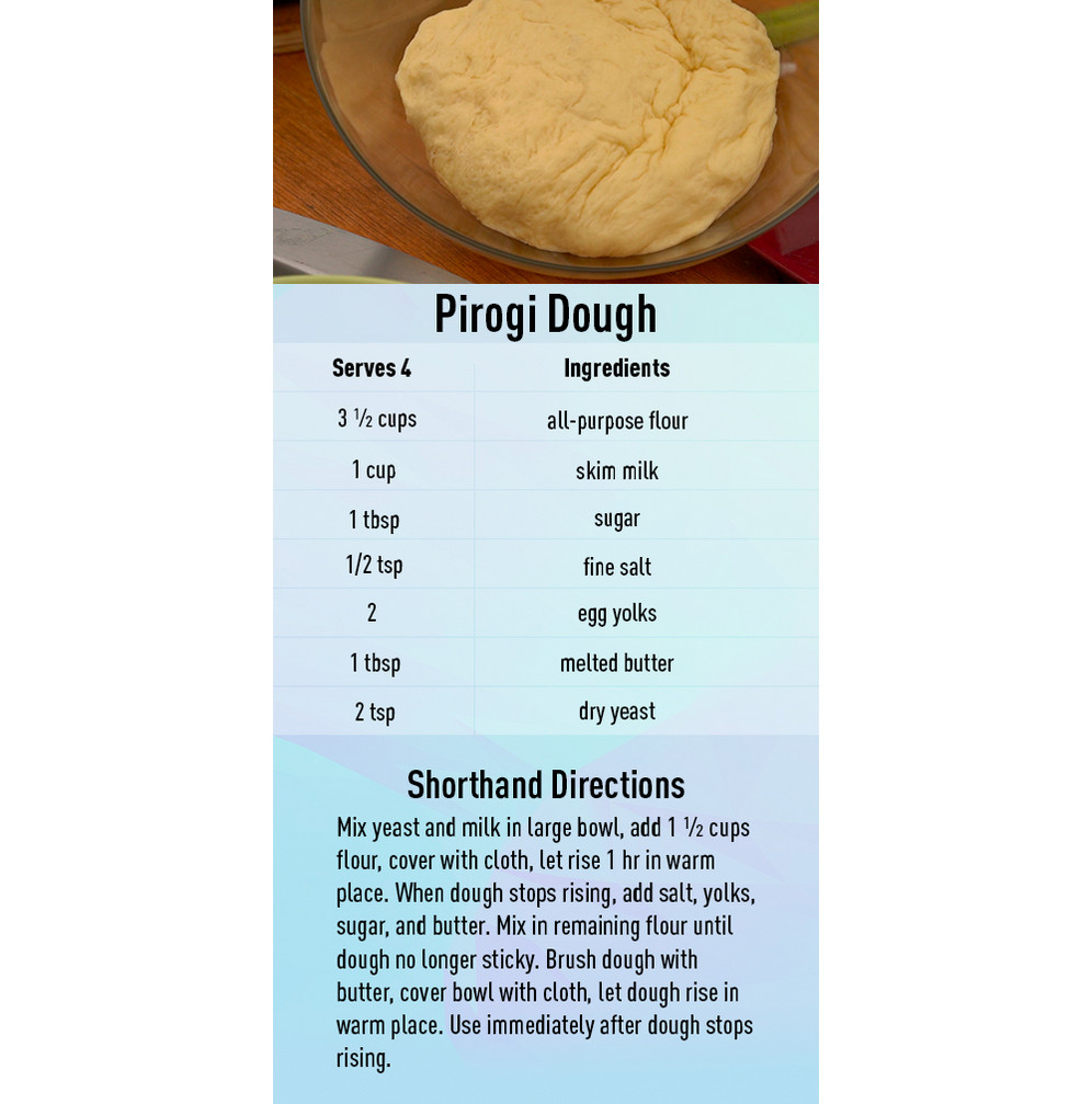Pirogi Dough recipe