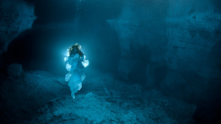 Mistress Of The Cave: Ancient Legend Recreated In Dark Icy
