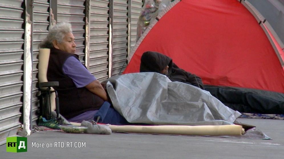 Homelessness crisis in Skid Row, Los Angeles