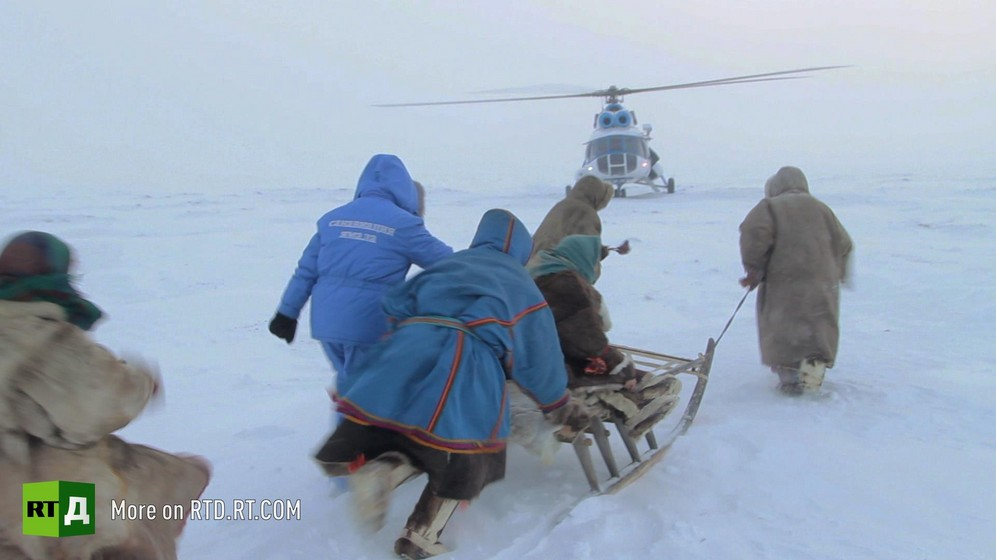 Air ambulance in Russia's Far North