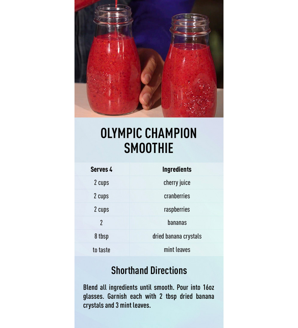 Olympic Champion Smoothie recipe