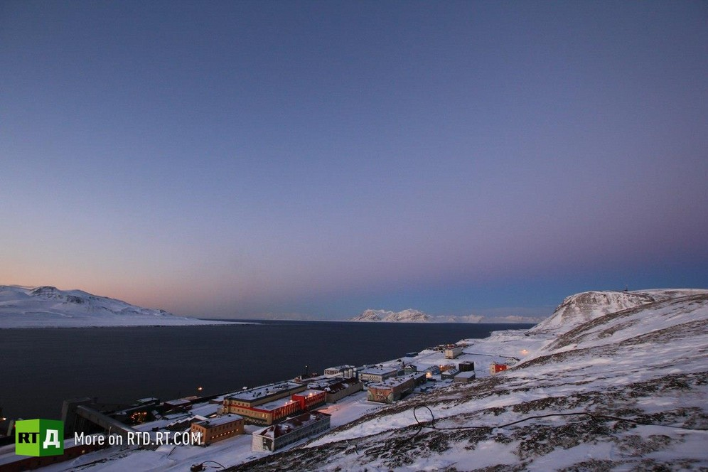 Company town of Barentsburg