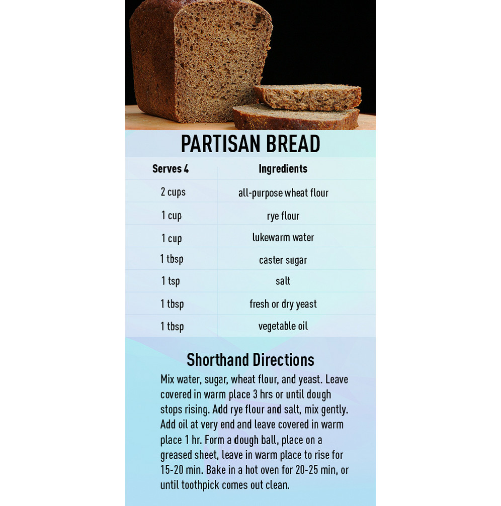 Partisan Bread recipe