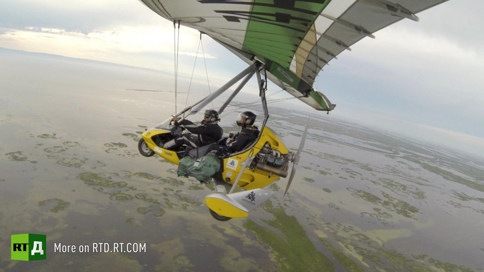 An ultralight aircraft