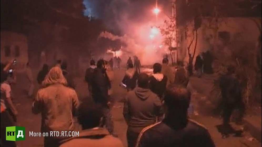 Clashes between Copts and Muslims in Egypt in 2013