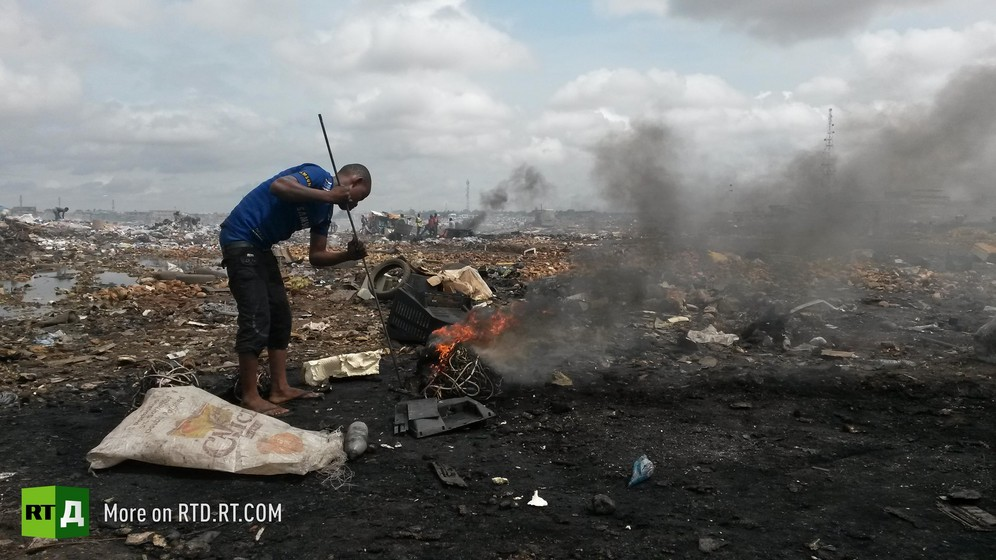 ToxiCity. The story of Agbobloshie, a graveyard for electronics... and people
