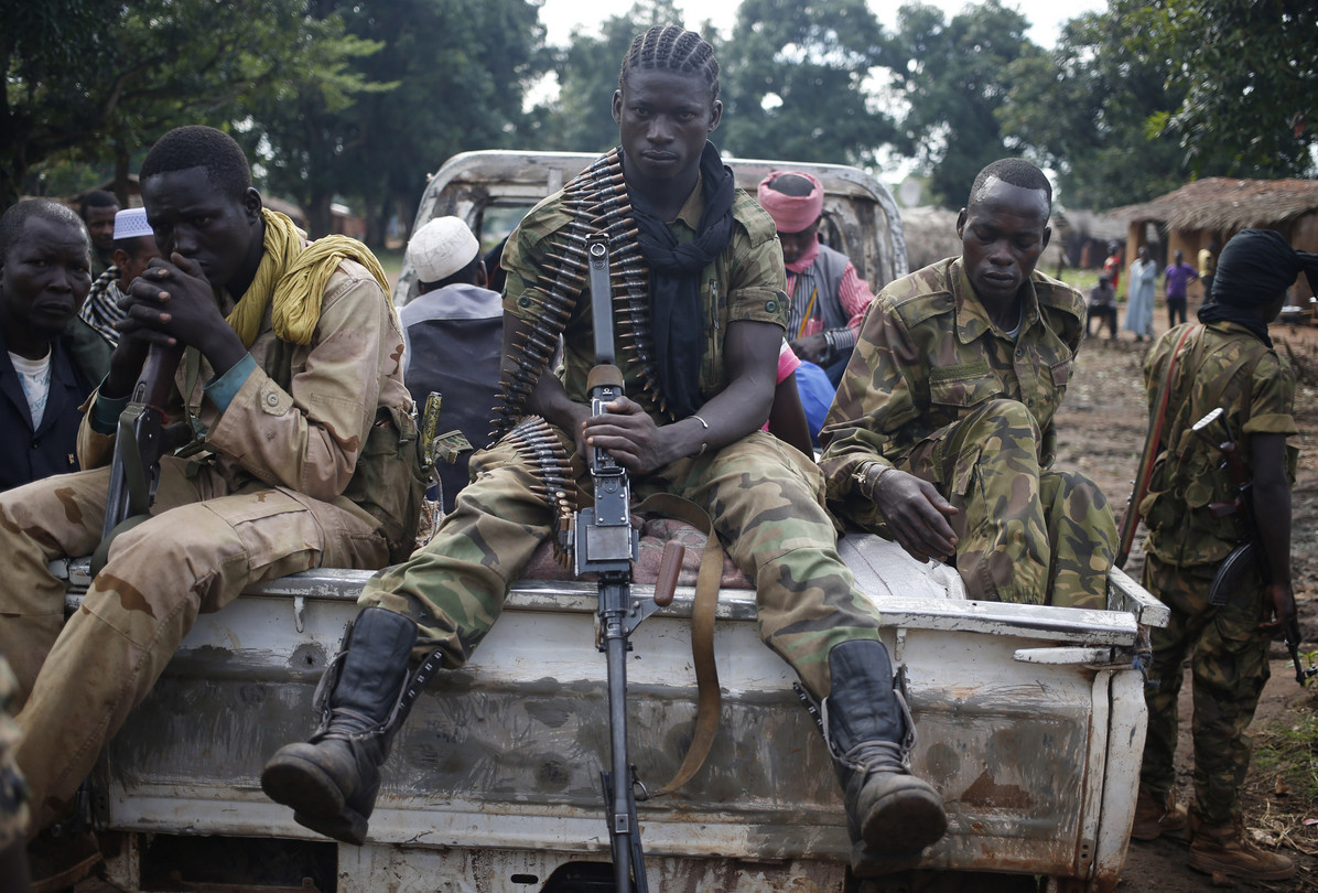 Seleka fighters (meaning 'coalition' in Sango, one of CAR's official languages along with French) advanced from the north to seize the capital, Bangui, plunging the impoverished nation even deeper into chaos. © Goran Tomasevic / Reuters