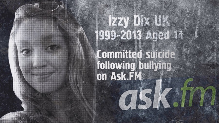 Cyber bullying stories: Izzy Dix