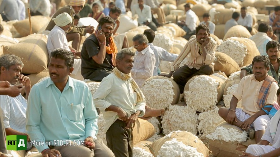 Cotton farmers from 100% Cotton.Made in India.