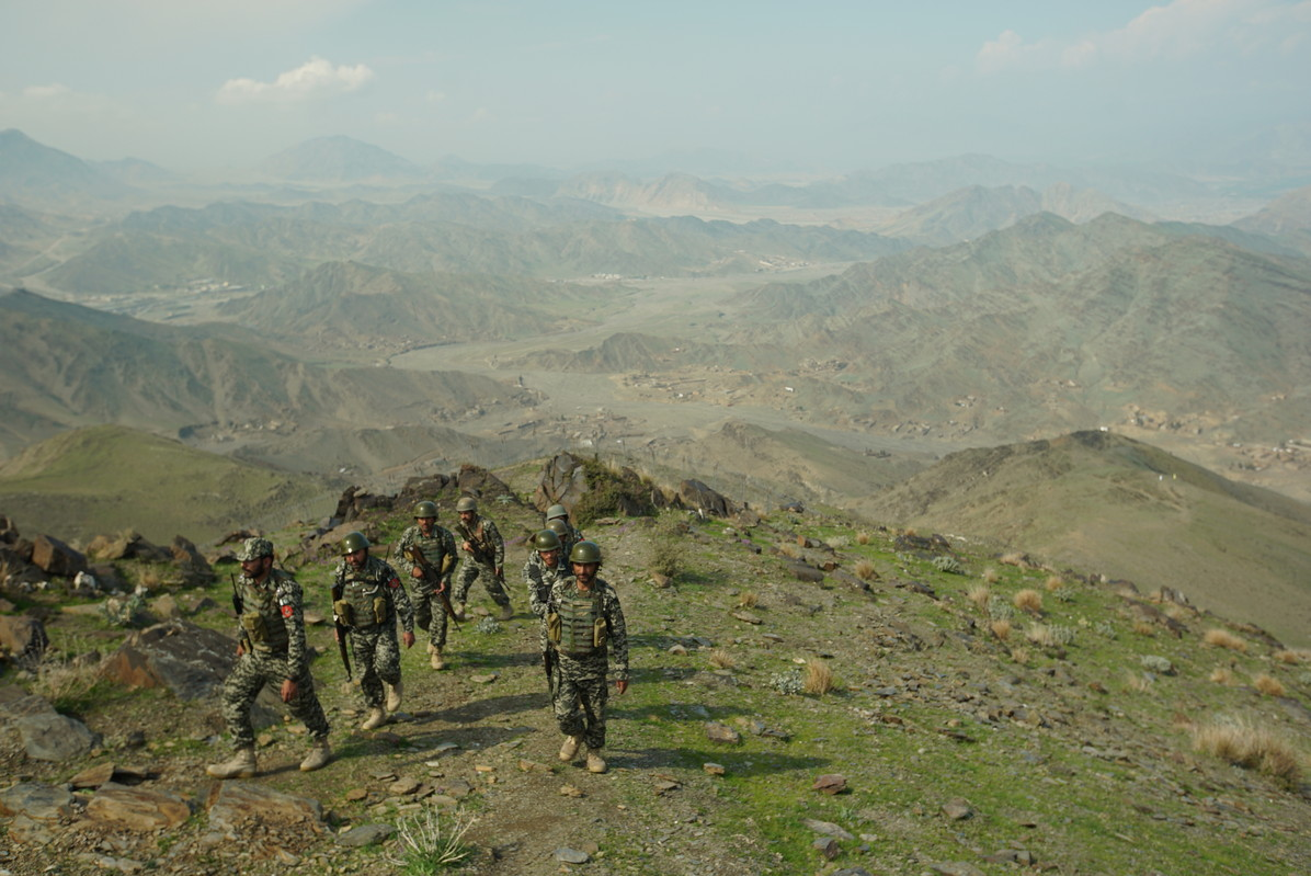 Pakistani army in North Waziristan
