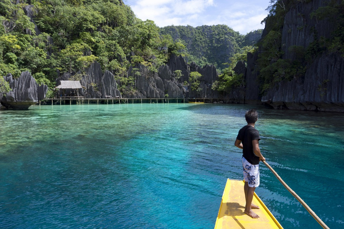 Palawan is frequently named the best island on Earth by influential travel magazines, including Travel + Leisure  and Conde Nast Traveller © J.W.Alker / Global Look Press