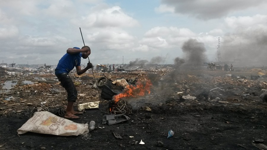 Agbogbloshie, the world's biggest electronic waste dump