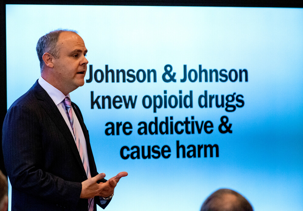 Trial of Johnson & Johnson over opioid epidemic