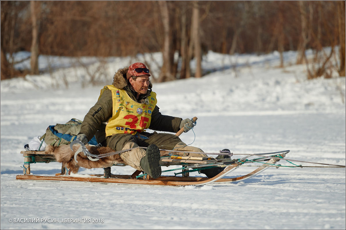 A traditional 'narta' sled