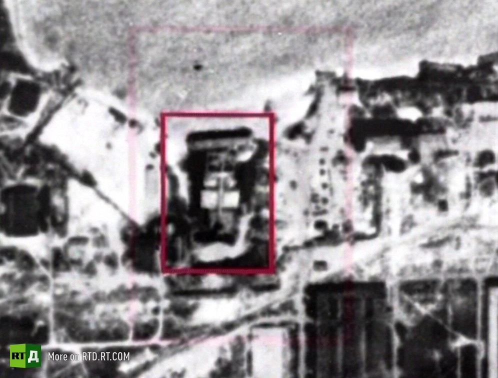 Caspian Sea Monster ekranoplan captured by an American spy satellite