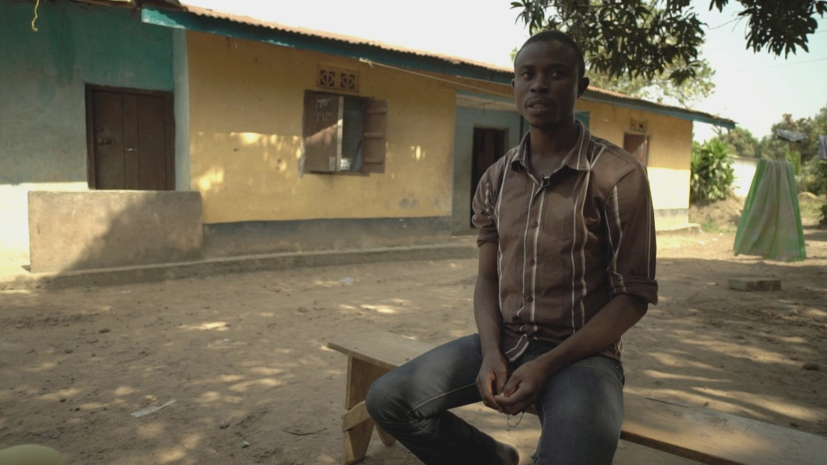 An Ebola survivor from Sierra Leone describes his ordeal