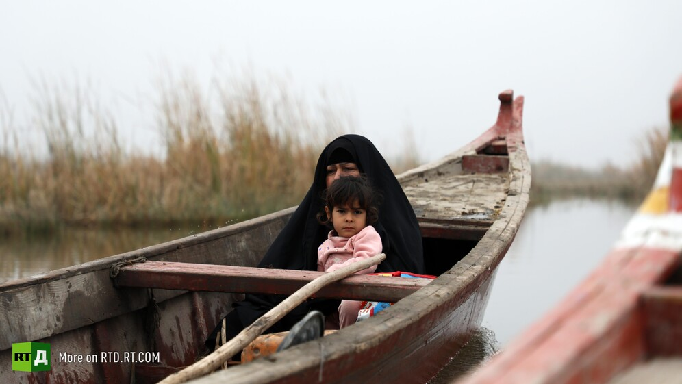 The Marsh Arab lifestyle under threat from pollution and reduced water levels