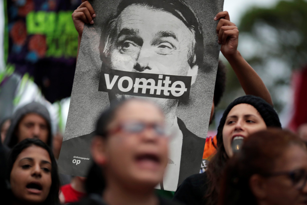 Anti-Bolsonaro protests