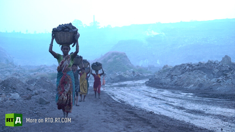 Jharia open cast coal mines that have poisoned locals for more than a century