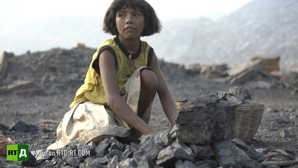 Coal is the only source of livelihood for the inhabitants of Jharia, India