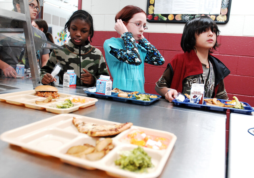 Lunch shaming of the US schoolchildren