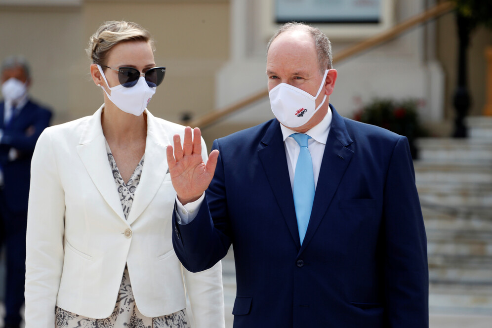 prince albert of monaco attends opening of the monte carlo casino