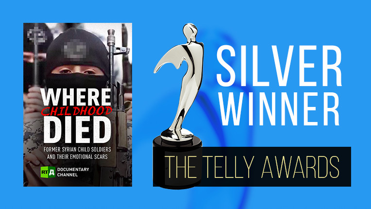 The Telly Awards: RTD on the winners' podium