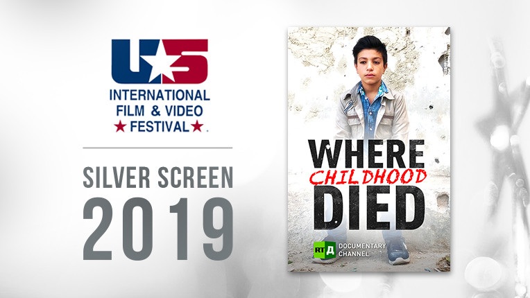 RTD takes silver at US Int'l Film & Video Festival with film featuring children in war-torn Syria