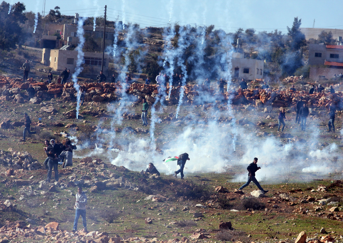 Clashes in Nabi Saleh