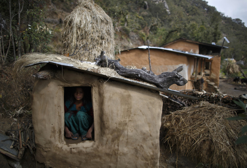 Chaupadi menstruation huts in Nepal